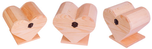 Wooden hearth boxes Stock Photos