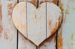 Wooden hearts shaped Royalty Free Stock Photography