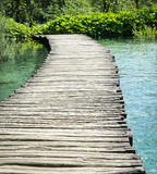 Wooden Hiking Path or Trail Stock Photos