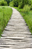 Wooden Hiking Trail Stock Image