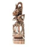 Wooden hindu god Stock Photography