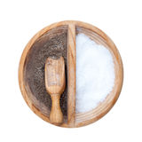 Wooden holder Royalty Free Stock Images