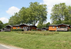 Wooden holiday houses Royalty Free Stock Photography