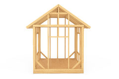 Wooden Home Construction Royalty Free Stock Photo