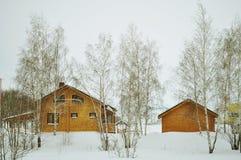 Wooden home, horizontal Stock Photo