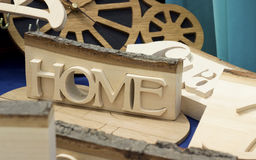 Wooden home Stock Image