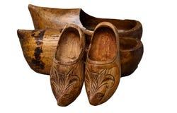 Wooden hoofs Stock Photo