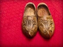 Wooden hoofs Stock Image