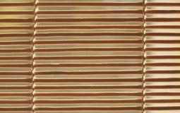 Wooden horizontal jalousie Royalty Free Stock Photography