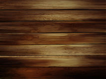 Wooden horizontal planks background. Realistic dark wood texture Royalty Free Stock Photography