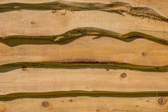 Wooden horizontal slats.  Royalty Free Stock Images