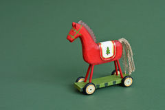 Wooden horse Stock Photos