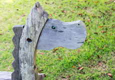 Wooden horse Royalty Free Stock Photography