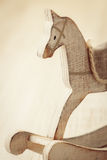 Wooden horse toy Stock Image
