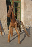 Wooden horse Stock Image
