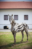 Wooden Horses Royalty Free Stock Photography