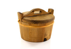 Wooden hot tub Stock Photos