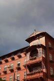 Wooden hotel building Stock Photography