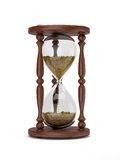Wooden hourglass Stock Images