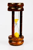 Wooden hourglass. Stock Photography