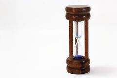 Wooden hourglass Royalty Free Stock Photography