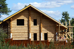 Wooden house Royalty Free Stock Images