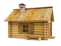 Wooden house Royalty Free Stock Image