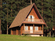 Free Wooden House Stock Photography - 33131652