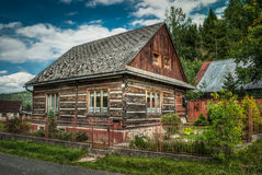 Wooden House Stock Photography