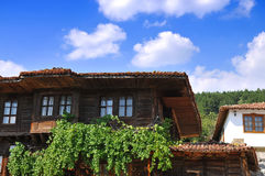 Wooden house. Old wooden house in Jeravna village, Bulgaria Stock Images