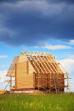 Wooden house, construction Royalty Free Stock Photography