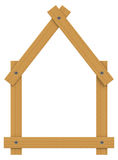 The wooden house Stock Photo