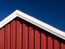 Wooden house detail Royalty Free Stock Photos