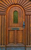 Wooden house door Royalty Free Stock Images