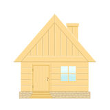 Wooden house. Stock Photo