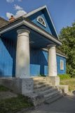 Wooden house exterior detail. Lithuania Stock Images