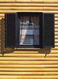 Wooden House Facade Stock Photography