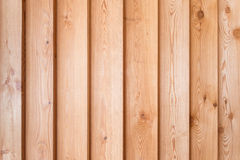 Wooden house facade Stock Photo