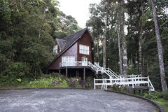 The wooden house Stock Photos