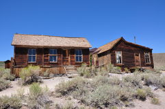 Wooden house, ghost town Stock Photography