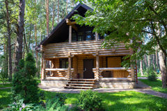 Free Wooden House In The Wood Royalty Free Stock Photography - 60203127