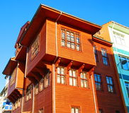 Wooden house. In istanbul turkey Royalty Free Stock Images