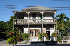 Wooden House in Key West, Florida Stock Photo