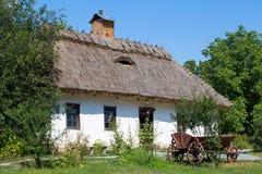 Wooden house, Kiev, Ukraine Stock Images