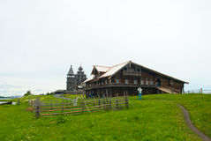 Wooden house on Kizhi Royalty Free Stock Image