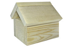 Wooden house model Stock Photo