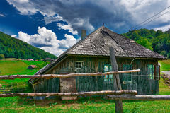 Wooden House Stock Photo