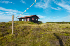 Wooden house in the nature Royalty Free Stock Photo
