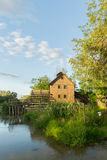 Wooden house near the river Royalty Free Stock Photography