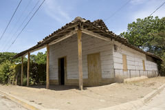 Wooden house in Nicaragua Royalty Free Stock Image